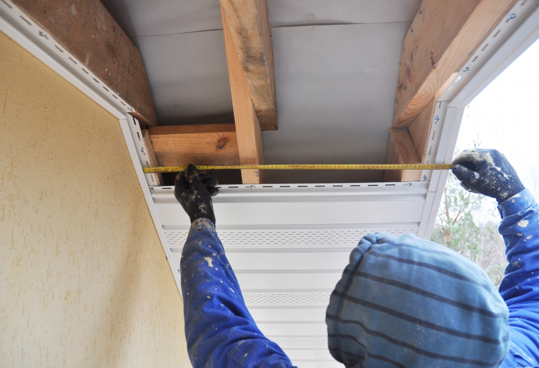 soffit and fascia installation Nashville